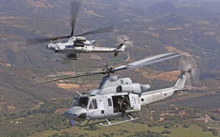 USA schválily navrhovaný prodej vrtulníků Bell AH-1Z do Bahrajnu