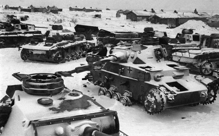 Německý tankový prapor v ledovém pekle Stalingradu bojoval až do konce