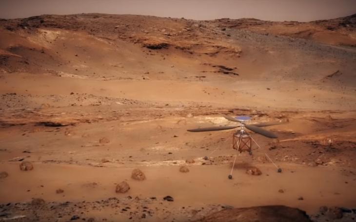 Podarí sa NASA zopakovať na Marse úspech bratov Wrightovcov? Na červenej planéte by sa mal objaviť ''Marsopter''