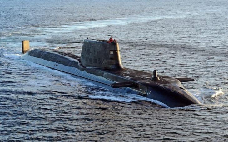Velká Británie chce investovat 2,5 miliard liber do stavby nových jaderných ponorek