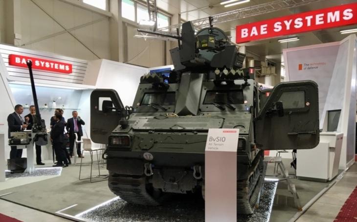 BAE Systems navštíví bratislavský IDEB. Na Slovensku představí obrněné vozidlo BvS10 i novinky z dílny CV90 pro českou armádu