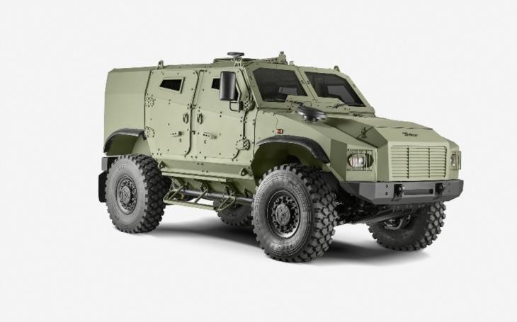 Taktické obranné vozidlo 4x4 GERLACH se uchází o první tendr. Testování splňuje očekávání