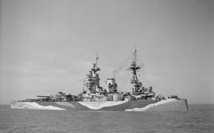 Video: Spouštění ,,Bismarckova kata&quote; HMS Rodney na vodu