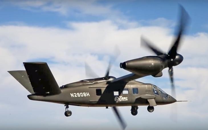 Video: Konvertoplán Bell V-280 dosáhl v testu zatím nejvyšší rychlosti