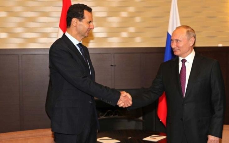 Asad hovořil s Putinem o politickém řešení syrského konfliktu