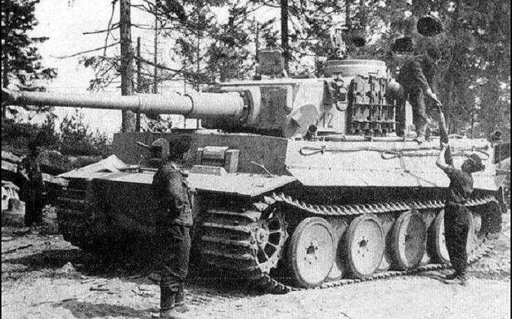 Tankové eso Otto Carius a 17 zničených sovětských tanků během 20 minut