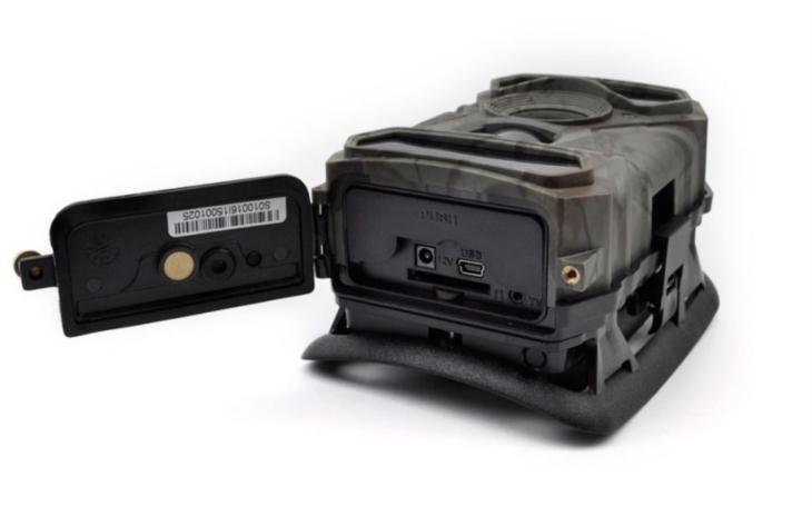 Fotopast s880G s GSM modulem je bezpečně chráněná heslem