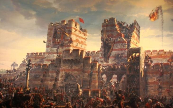 29. května 1453: Den, kdy byla Konstantinopol dobyta a pokořena Osmanskými Turky. Jejich říše se stává nezpochybnitelnou velmocí
