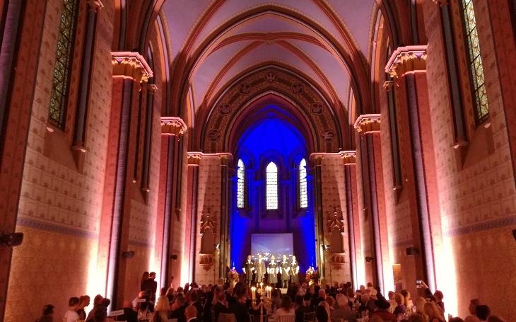 EUROPEAN INSTITUTE zajišťovala VIP ochranu GEORGIAN EVENINGu v Sacre Coeur