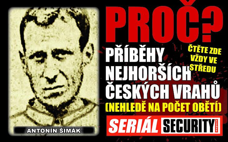 Bosý vrah Šimák: Kradl hlavně prádlo. Chytli v hospodě, když si objednával šesté pivo. Nejdřív však zadrželi jeho opuštěné boty