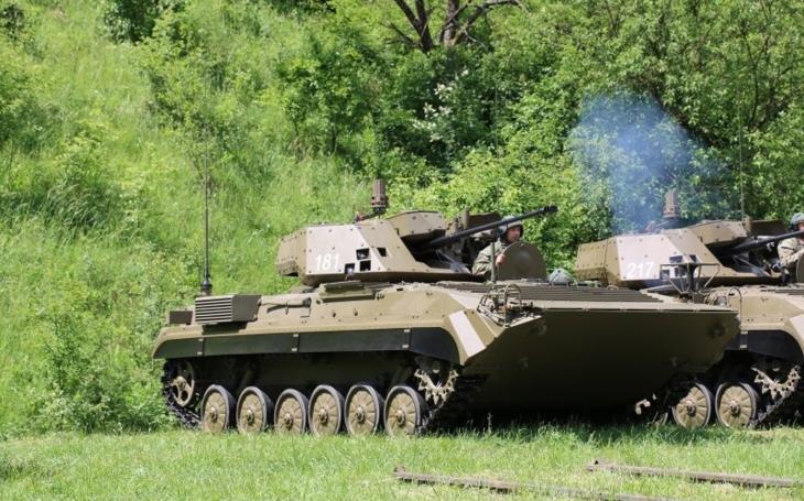 Ozbrojené sily Slovenskej republiky dostali nové bojové vozidlá pechoty