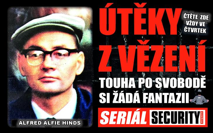 Neviditelný Alfie: Utekl z vězení třikrát, aniž by strážní poznali, jak to vlastně udělal. Stal se vynikajícím právníkem