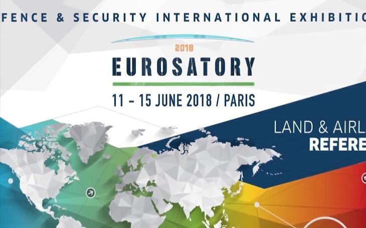 Mezinárodní veletrh obranné a bezpečnostní techniky Eurosatory se bude konat v Paříži ve dnech 11. 6 - 15. 6. Bude hostit více než 1750 vystavovatelů z 63 zemí