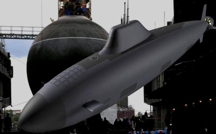 První jaderná ponorka třídy Husky s hypersonickými střelami by měla být předána ruskému námořnictvu do roku 2027