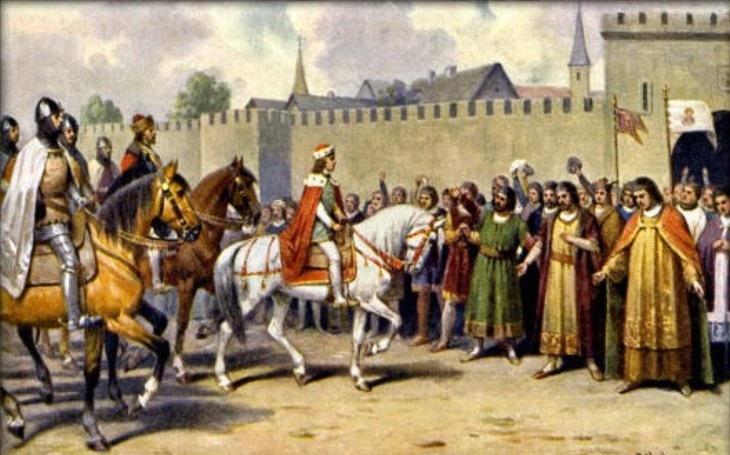 Velký milovník a megaloman Václav II.