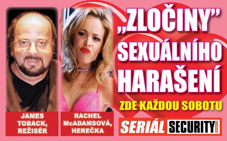 """Strašlivý zločin režiséra Jamese Tobacka: """"Tiskl se na mě a šeptal, že mě chce vidět nahou,"""" žaluje herečka. Přidalo se 300 dalších žen"""