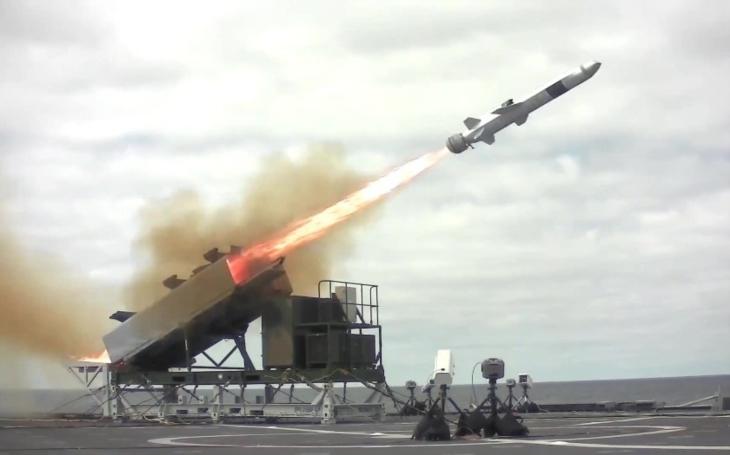 VIDEO: Protilodní střely NSM pro lodě amerického námořnictva