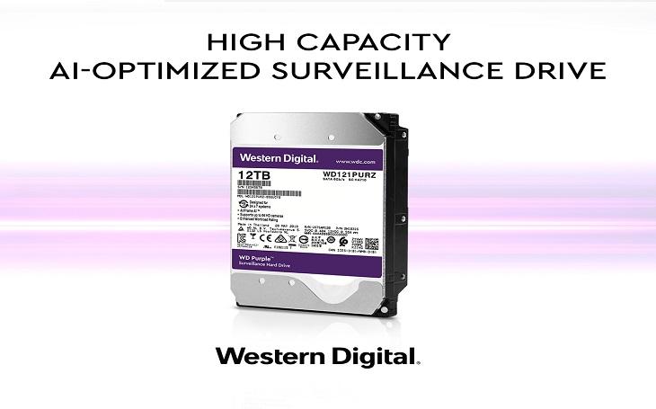 Western Digital zvyšuje možnosti dohledových kamerových systémů s umělou inteligencí a představuje nový pevný disk s vysokou ukládací kapacitou