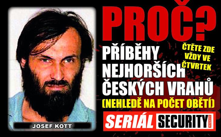 Josef Kott: Bývalý voják se zamiloval do spoluvězně s fešnou bradkou, zabil čtyři lidi a pak předstíral šílenství