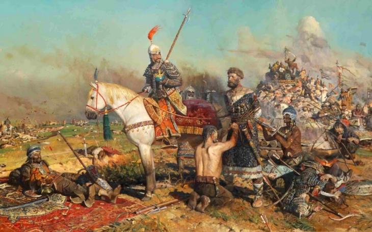 Během bitvy na řece Kalce rozdrtili Mongolové moc ruských knížat