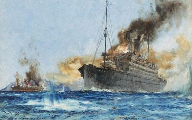 Zoufalý boj zaoceánských parníků: HMS Carmania vs. SMS Cap Trafalgar roku 1914