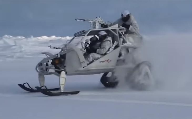 V Čečensku vyvinuli bojové vozidlo pro operace v Arktidě