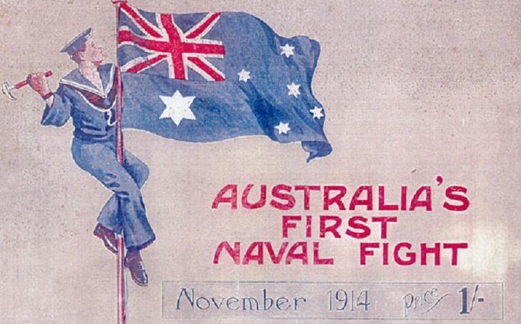 Konec korzára SMS Emden byl prvním námořním vítězstvím Austrálie ve Velké válce