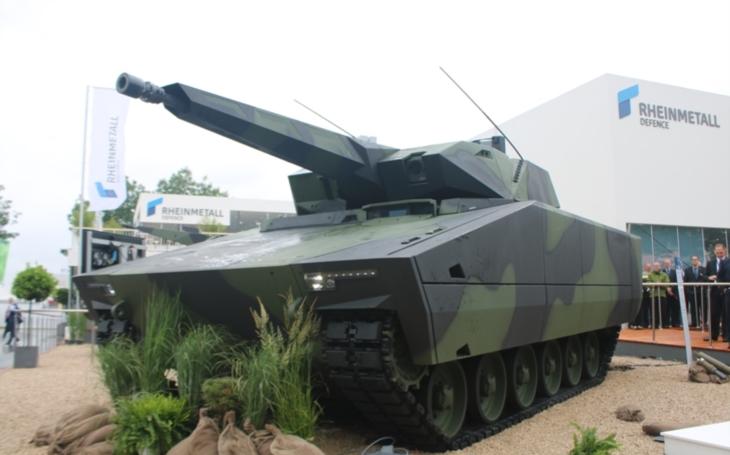 ,,Máme nejmodernější design a jsme nejlepší v oboru,&quote;  řekl v rozhovoru pro SM viceprezident německé zbrojovky Rheinmetall Oliver Mittelsdorf