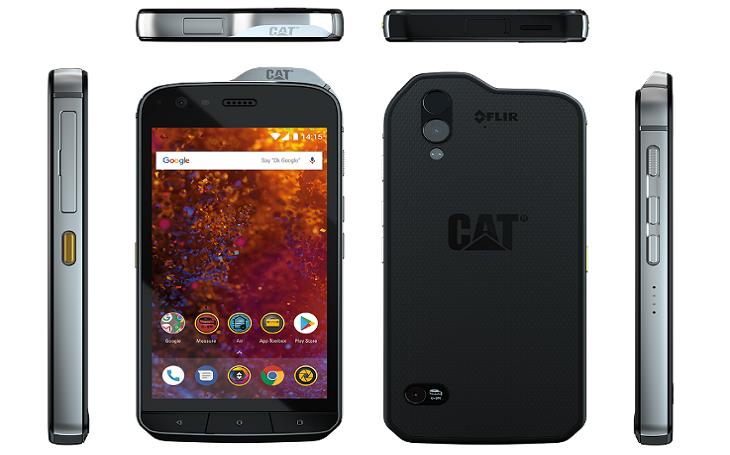 Cat phones v České republice představili svou novou vlajkovou loď, mobilní telefon Cat S61