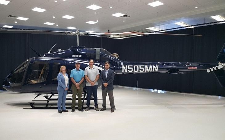 Společnost Bell dodala v pořadí stý vrtulník typu Bell 505