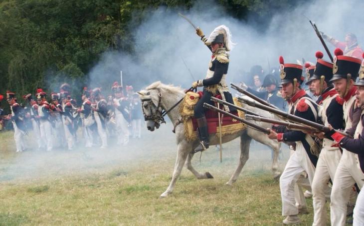 Waterloo: oživování napoleonské historie