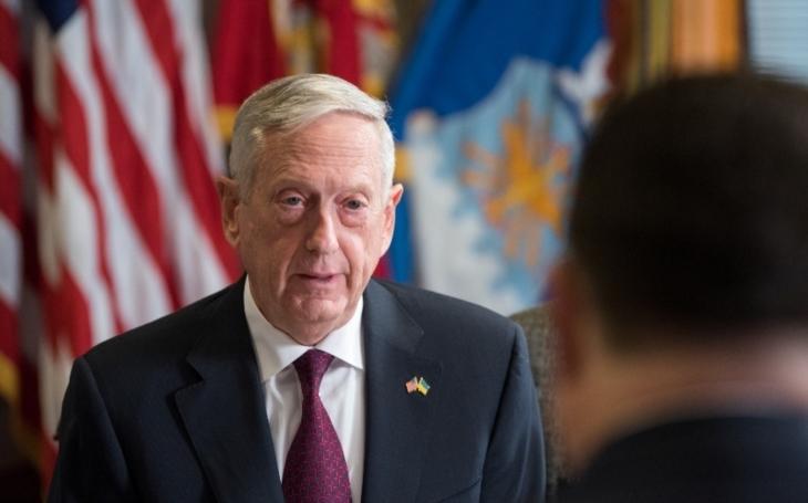 Mattis ujistil Soul, že USA ctí závazky vůči Jižní Koreji