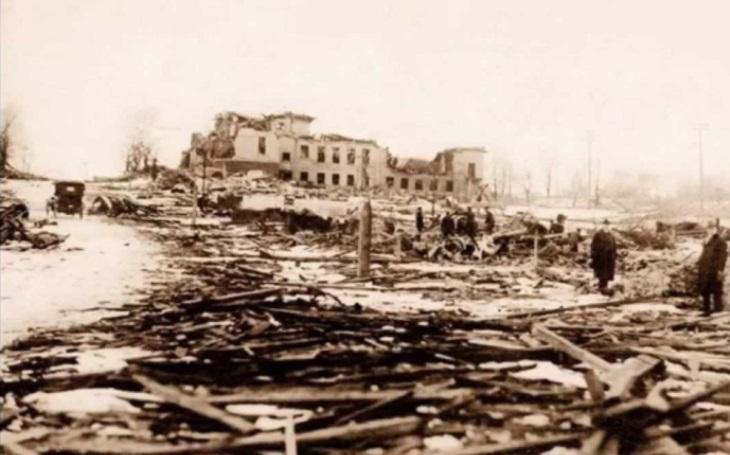 2 000 lidí skončilo v ohnivém pekle. Srážka dvou lodí v kanadském Halifaxu byla jednou z největších tragédií v první světové válce