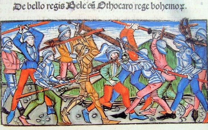 Bitva u Kressenbrunnu: Jak český král Přemysl Otakar II. rozprášil vojska uherského krále Bély IV. a ušetřil přitom Bratislavu
