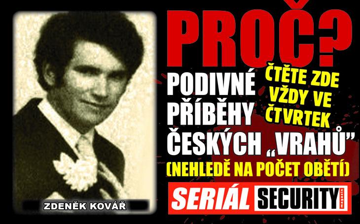 Zdeněk Kovář: Postřílel v restauraci osm lidí kvůli manželce, která byla řízená z vesmíru?