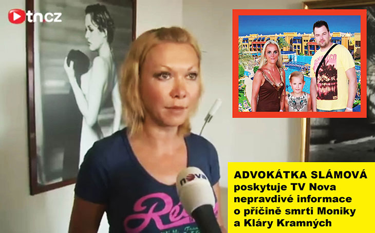 Advokátka Klára Slámová lhala médiím v kauze Kramný, říká spolek Šalamoun. Tady je jasný důkaz