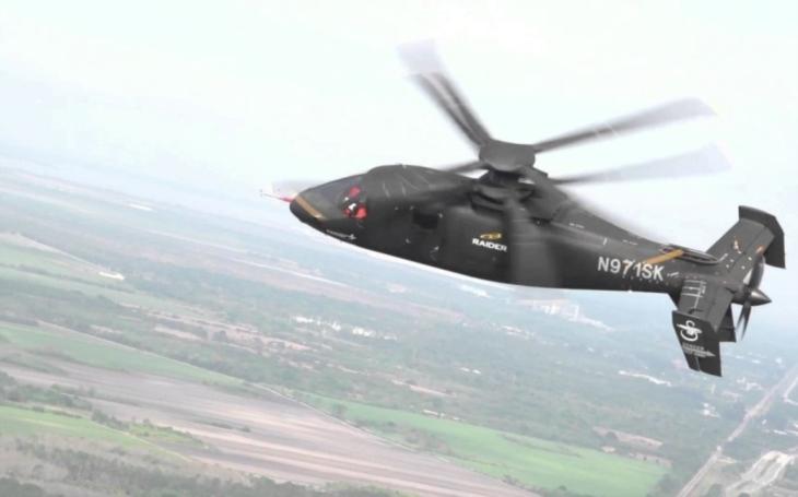 Prototyp nového amerického lehkého vrtulníku z programu FARA v roce 2022