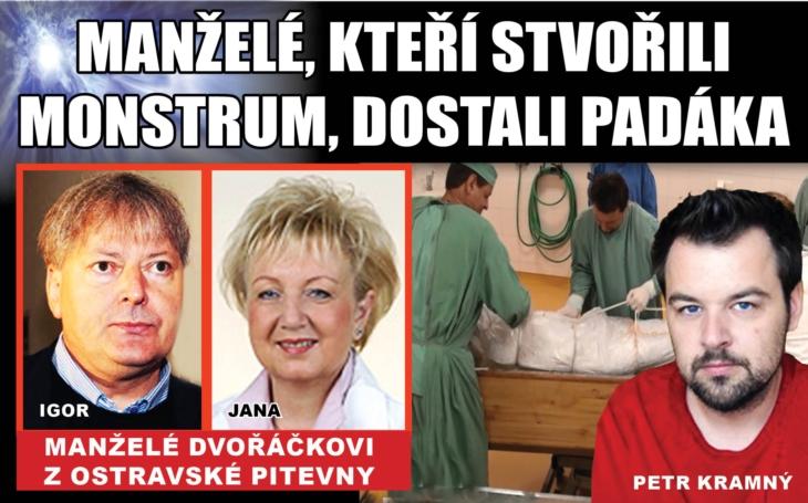 Klíčový muž v kauze Kramný, autor verze vraždy elektřinou Igor Dvořáček, dostal od nového vedení nemocnice okamžitou výpověď. Chobotnice se rozrůstá
