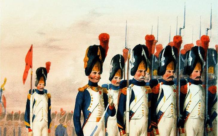 Napoleonovi granátníci bez granátů, karabiníci bez karabin