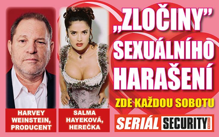 """Salma Hayeková: """"Weinstein mě donutil se svléknout kvůli roli a chtěl se se mnou osprchovat."""""""