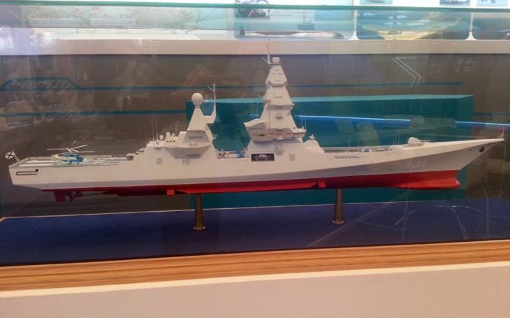Stavba ruských gigantických torpédoborců třídy Liděr začne po roce 2022