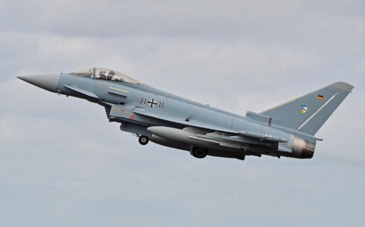 Alarm pro německé letectvo: Jen 4 letouny Eurofighter Typhoon ze 128 jsou schopné absolvovat bojovou misi