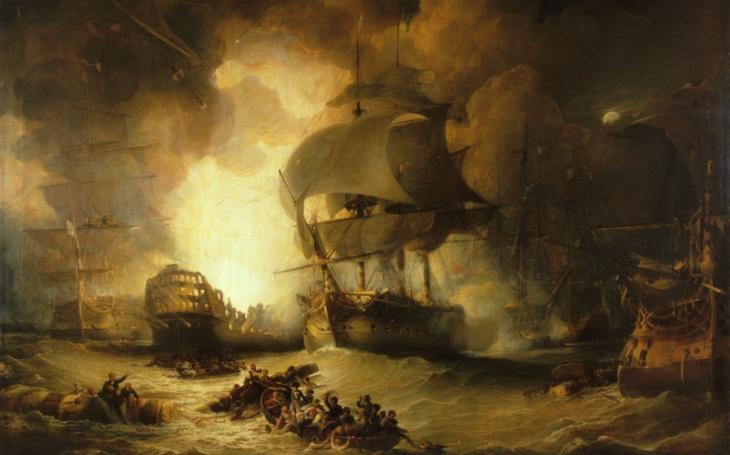 Bitva na Nilu: výbuch Orientu předznamenal výbuch Bonapartova orientálního tažení
