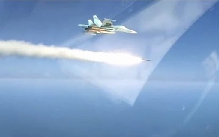 VIDEO: Likvidace cvičného cíle nadzvukovou ruskou raketou Ch-31