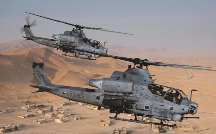 Vrtulník AH-1Z Viper od Bell se zapojil do cvičení RIMPAC