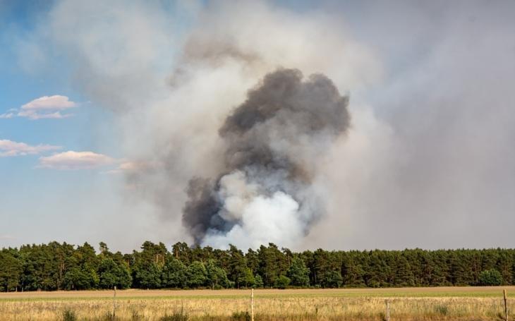 V červenci bylo 2688 požárů, nejvíce za posledních 12 let