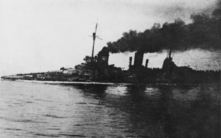 Císařův nepotopitelný bitevní křižník SMS Seydlitz