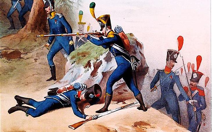 Napoleonova lehká pěchota