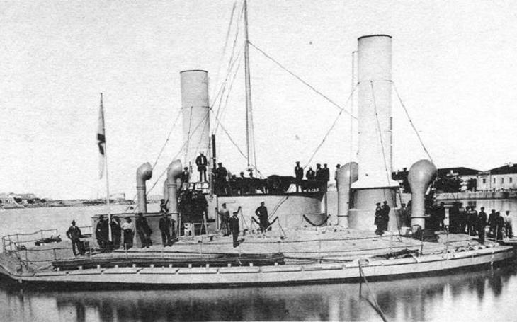 Novgorod - zapomenutá kruhová válečná loď carského námořnictva