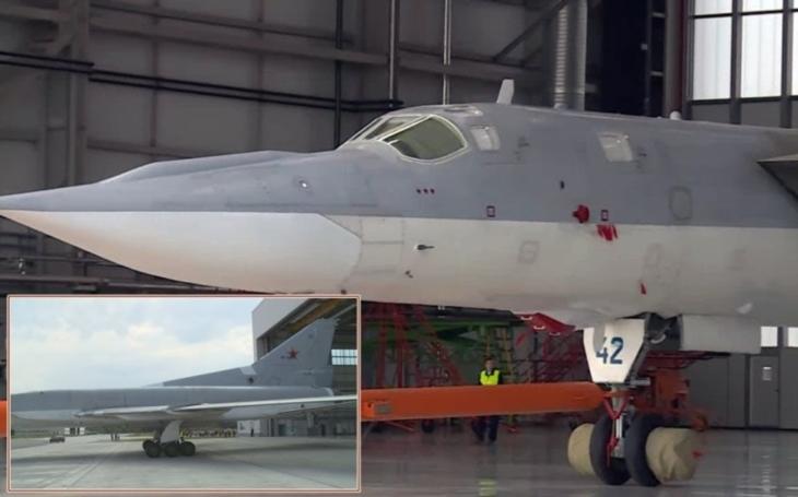VIDEO: Ruský zmodernizovaný bombardér Tupolev Tu-22M3M vyroloval ze závodu v Kazani